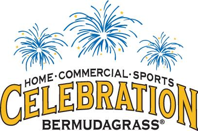 Celebration turf logo