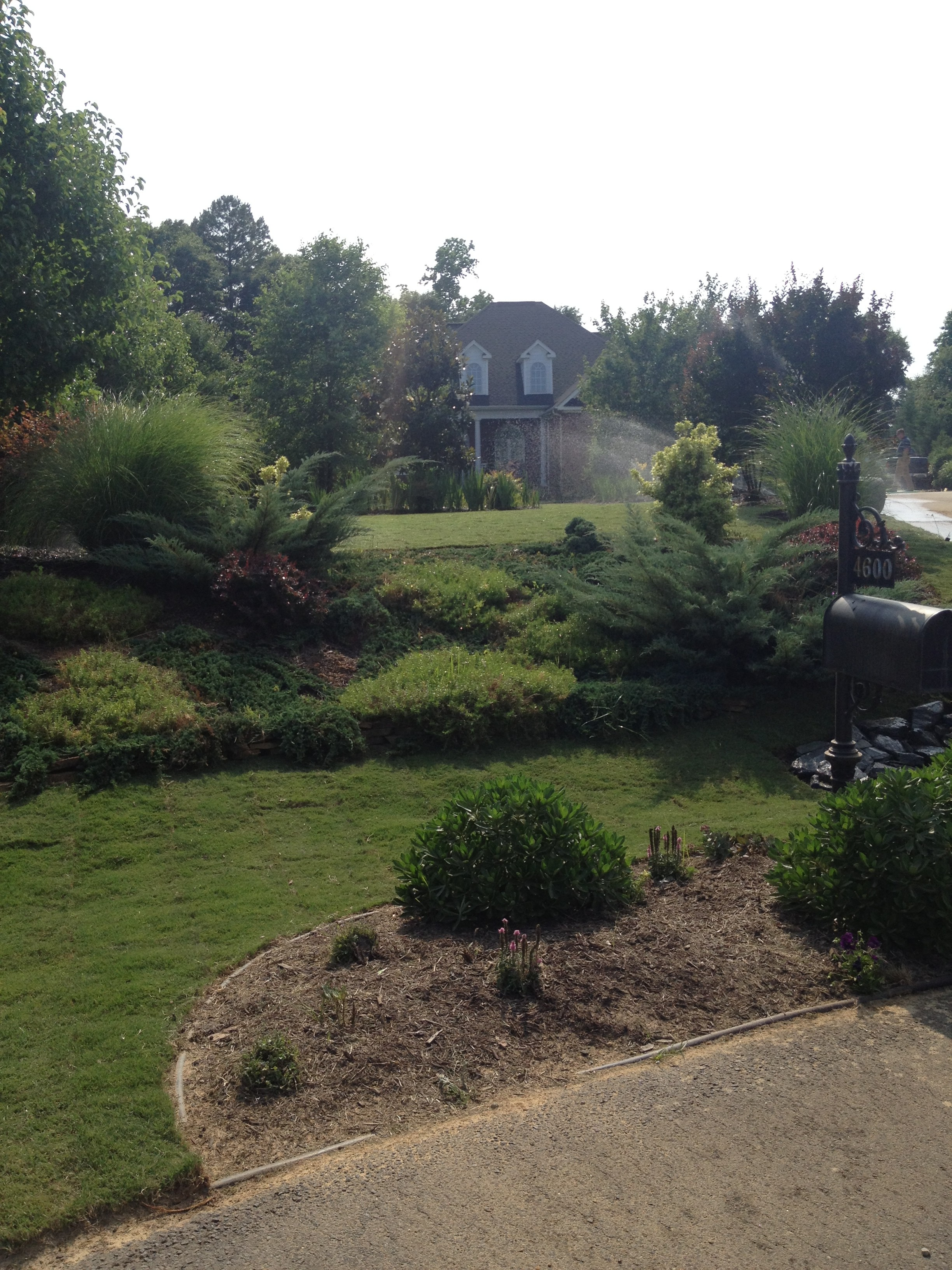 Hsf3 nc sod mulch for Landscaping rocks wake forest nc